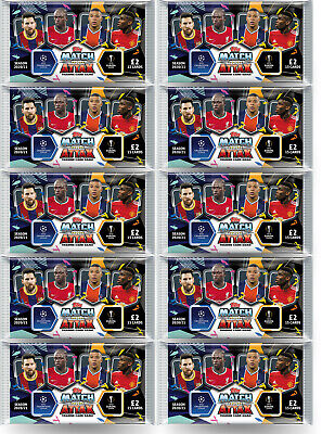 Match Attax 20/21 10 Pack 15 Cards Per Packet 2020/2021 season NEW
