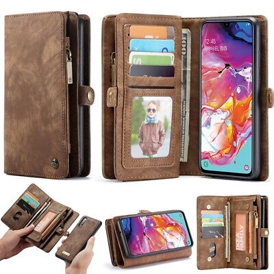 For Samsung Galaxy S20 Plus Note 20 Ultra 10 Leather Card Wallet Case Flip Cover