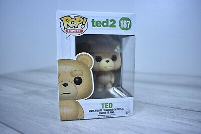 TED 2 Funko pop vinyl with remote no.187 BOXED   Age 17+