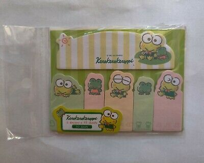 Sanrio Keroppi Sticky Notes Page Marker Tabs Crown
