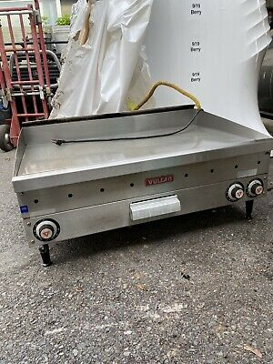 """Vulcan  36"""" Natural Gas Flat Top Grill Griddle Commercial Stainless Natural Gas"""