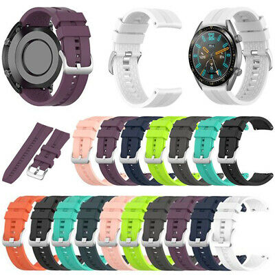For Huawei Watch GT 2 42mm/46mm Silicone Replacement Strap Wrist Band Bracelet