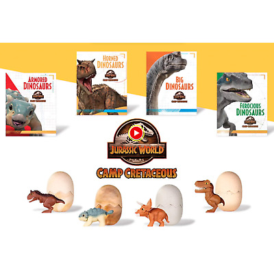 2020 McDonald's Jurassic World Camp Cretaceous Drop Down Menu MIP Free USA Ship
