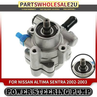 Power Steering Pump Assembly Compatible with 2007-2013 Nissan Altima 2.5L