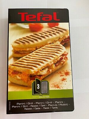Tefal piastre XA800312 griglie panini Snack Time Collection Happiness SW34 SW85