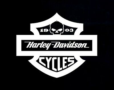 Harley Davidson Vinyl Decal Stickers You Pick Color
