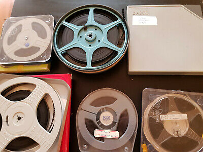 JOB LOT 6 x 200FT FAMILY HOME MOVIES STD 8 8MM CINE FILM EUROPE 1960'S-70'S