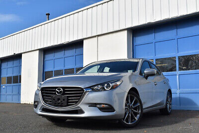 2018 Mazda Mazda3 Touring Heated Leather Seats Navigation Moonroof BOSE Blind Spot Monitor Rear View Cam +