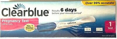 1 Clearblue PREGNANCY TEST Early Detection 6 days before your missed period 2022