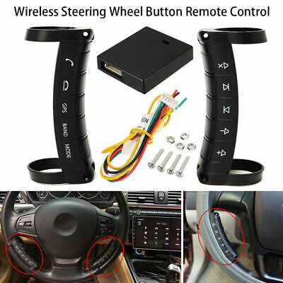 For Stereo DVD GPS Universal Wireless Car Steering Wheel Button Remote Control