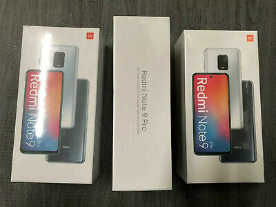 Xiaomi Redmi Note 9 Pro 64GB 6GB RAM  Dual SIM Factory Unlocked Global SPEC NEW