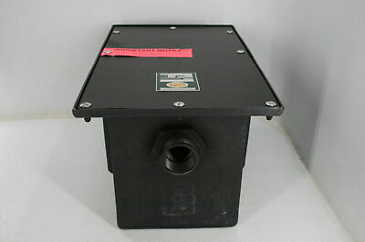 Zurn GT2702-10 Polyethylene Grease Trap/Interceptor 10 GPM 20lbs Cap Black