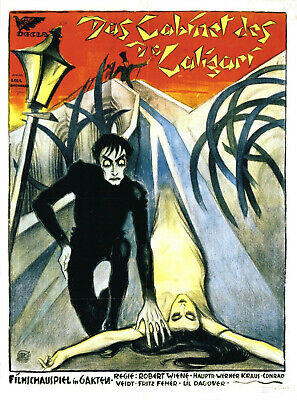 The Cabinet Of Dr Caligari 1920 Super 8 B/W Silent 5X200Ft Feature Cine 8Mm Film