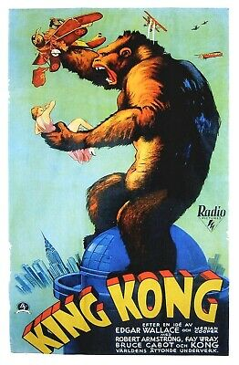 King Kong 1933 Super 8 B/W Silent 2 X 200Ft Cine 8Mm Film Collectors Club Releas