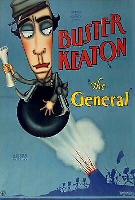 The General 1926 Super 8 B/W Silent 7X200Ft Feature Buster Keaton 8Mm Cine Film