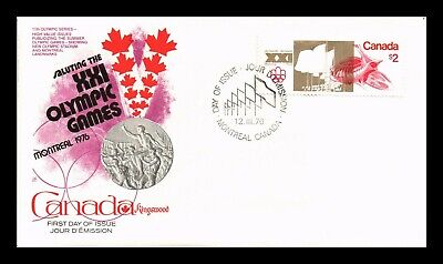 Dr Jim Stamps $2 Montreal Olympic Games First Day Issue Canada Sealed Cover