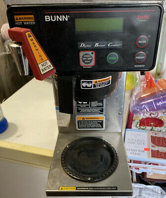 bunn commercial coffee maker used