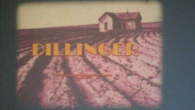 Dillinger Super 8 Colour Sound 400Ft Cine 8Mm Film