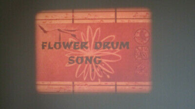 Flower Drum Song  Super 8 Colour Sound 400Ft Cine 8Mm Film
