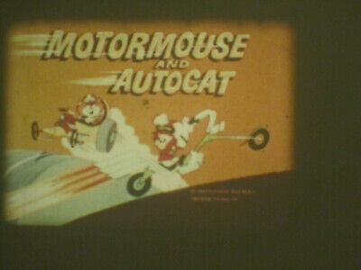 Motormouse Autocat Wild Wheelin Wheels Super 8 Colour Sound 200Ft Cine 8Mm Film