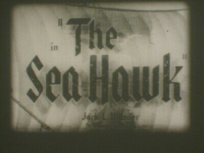 The Sea Hawk Super 8 B/W Sound 2 X 400Ft Film Cine 8Mm Errol Flynn