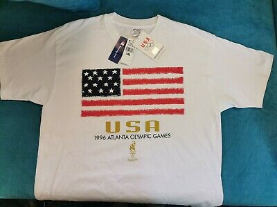 Vintage Champion 1996 Atlanta Olympic Games Size XL T-shirt