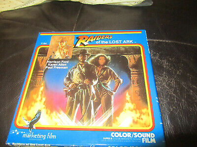 Raiders Of The Lost Ark Super 8 Colour Sound 400Ft Cine 8Mm Film Harrison Ford
