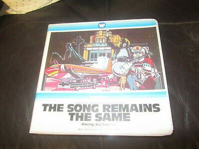 The Song Remains The Same Super 8 Colour Sound 400Ft Cine 8Mm Film Led Zeppelin