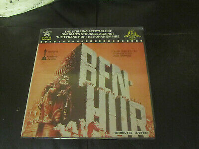 Ben Hur 1959 Super 8 Colour Sound 400Ft Cine 8Mm Film Charlton Heston