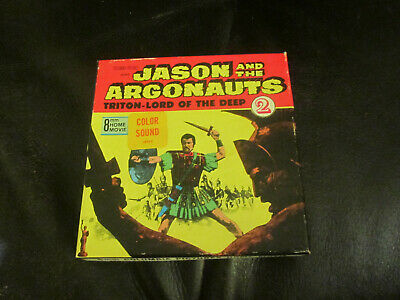 Jason And The Argonauts Triton Super 8 Colour Sound 200Ft Cine 8Mm Film
