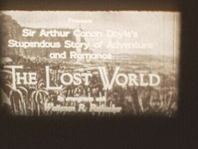 The Lost World 1925 Std 8 B/W Silent 5 X 200Ft Cine Film 8Mm Feature Conan Doyle