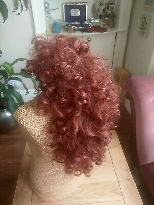 Wig Ginger Long Curly