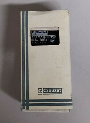 CROUZET 88.226.510 RESET TIMER 88226510 - New in Box