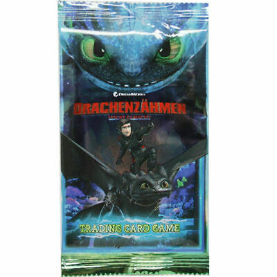 2019 - Die geheime Welt 1 Booster Dragons Trading Cards Serie 3