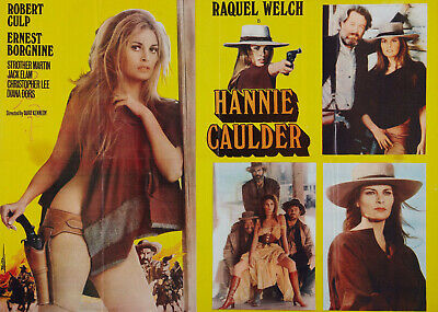 Hannie Caulder Super 8 B/W Sound 4X400Ft Cine 8Mm Film Mini Feature Raquel Welch