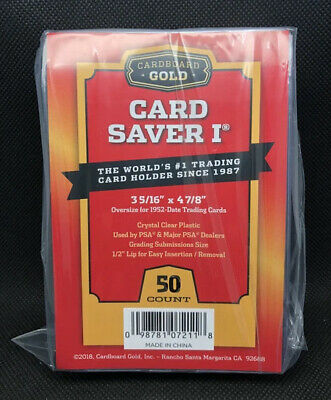 (50) Card Saver 1 Graded Card Sleeves for BGS PSA SGC BCCG Submissions