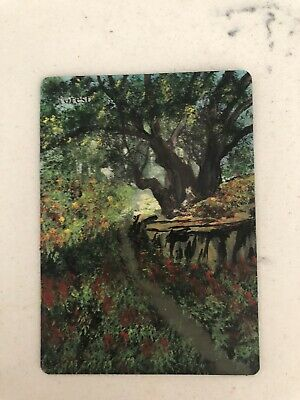 MTG ALTERED FOREST 100/%HAND-PAINTED ORIGINAL Art By Angela