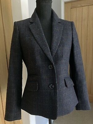Austin Reed Ladies Black Smart Work Jacket Lined Uk Size 10 9 99 Picclick Uk