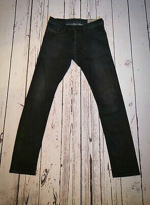 W36 Wrangler Men/'s Jeans Larston Slim Tapered Sonow Flake Grey W30