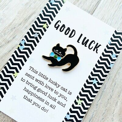 GL3 Good Luck In Your New Venture Wooden Heart Shaped  Gift