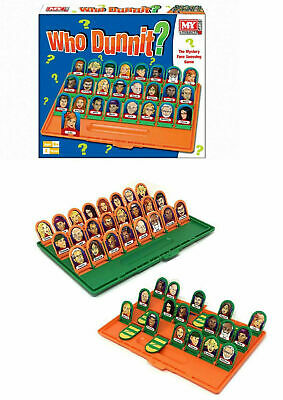 Who Dunnit?  Full Size Traditional Classic Family Board Games Kids Indoor Fun To