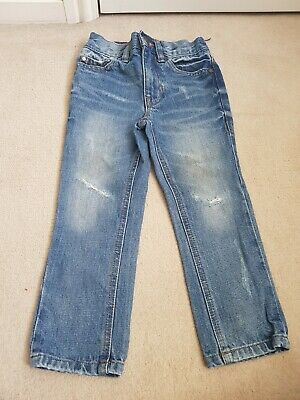 Boys Age 3 NEXT Regular Fit Distressed Jeans