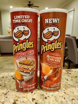 Pringles Limited Edition Cans Rotisserie Chicken And Reuben 10 00 Picclick
