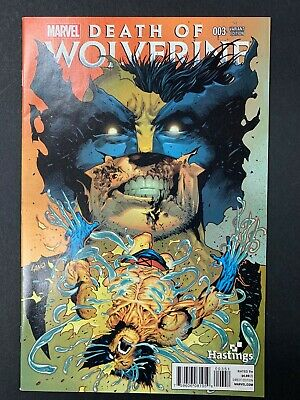 Fast Shipping! Death of Wolverine #3 Hastings Variant Comic