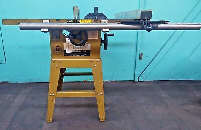 "Powermatic 10"" Table Saw, Model 63"