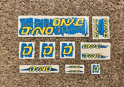 Ultrahive Licensed Reproduction Decal Old School BMX GT Dyno Spin Tech Decals