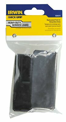 IRWIN Tools QUICK-GRIP Replacement Pads for XP600 Clamps, 2-Pack (1826576),Bl...