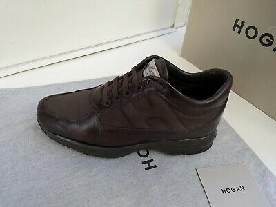 Scarpe Hogan N 41 7 Originali Interactive Pelle Uomo Marroni Made In Italy Eur 40 49 Picclick It