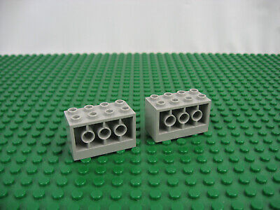 2x LEGO Old Gray Cockpit 11 x 4 x 2 2//3 Inverted Slope 6984 6897 6957 #6058