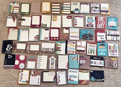 NEW PEBBLES INC SHARE /& TELL 4X6 JOURNALING CARDS WINTER 70300 1410